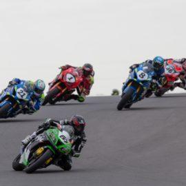 Group of ASBK Australian Superbikes