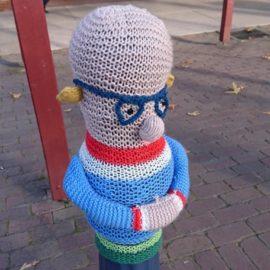Benalla yarnbombing