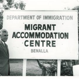 Benalla Migrant Camp Main Gates